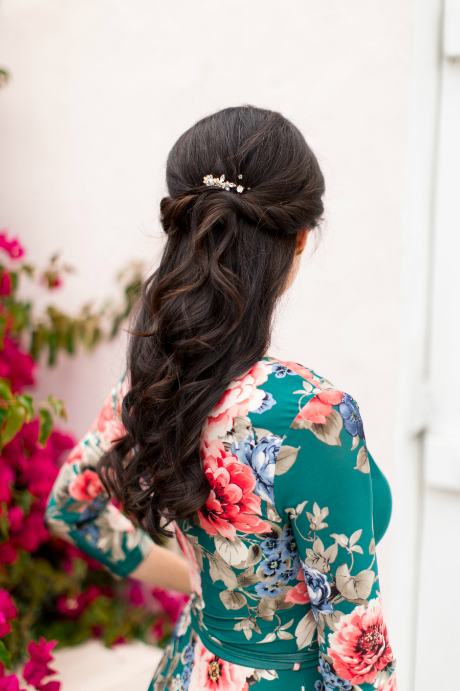 Hairstyle Tutorial - Gorgeous Half-up Half-down Hairstyle