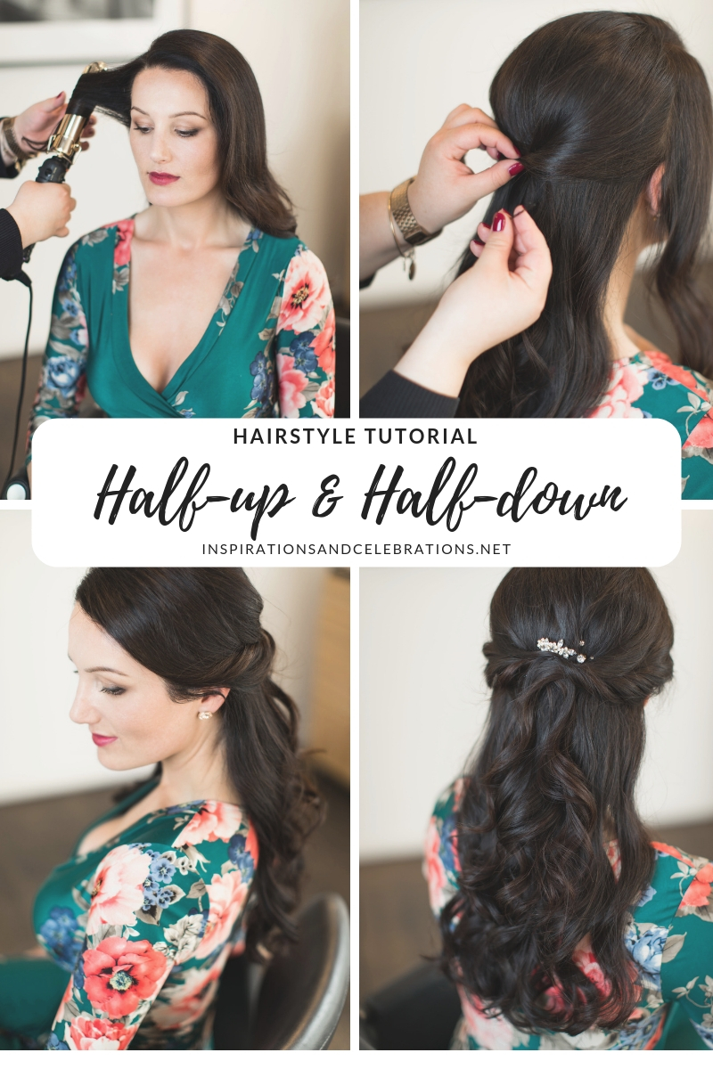 Hairstyle Tutorial - Half-up Half-down