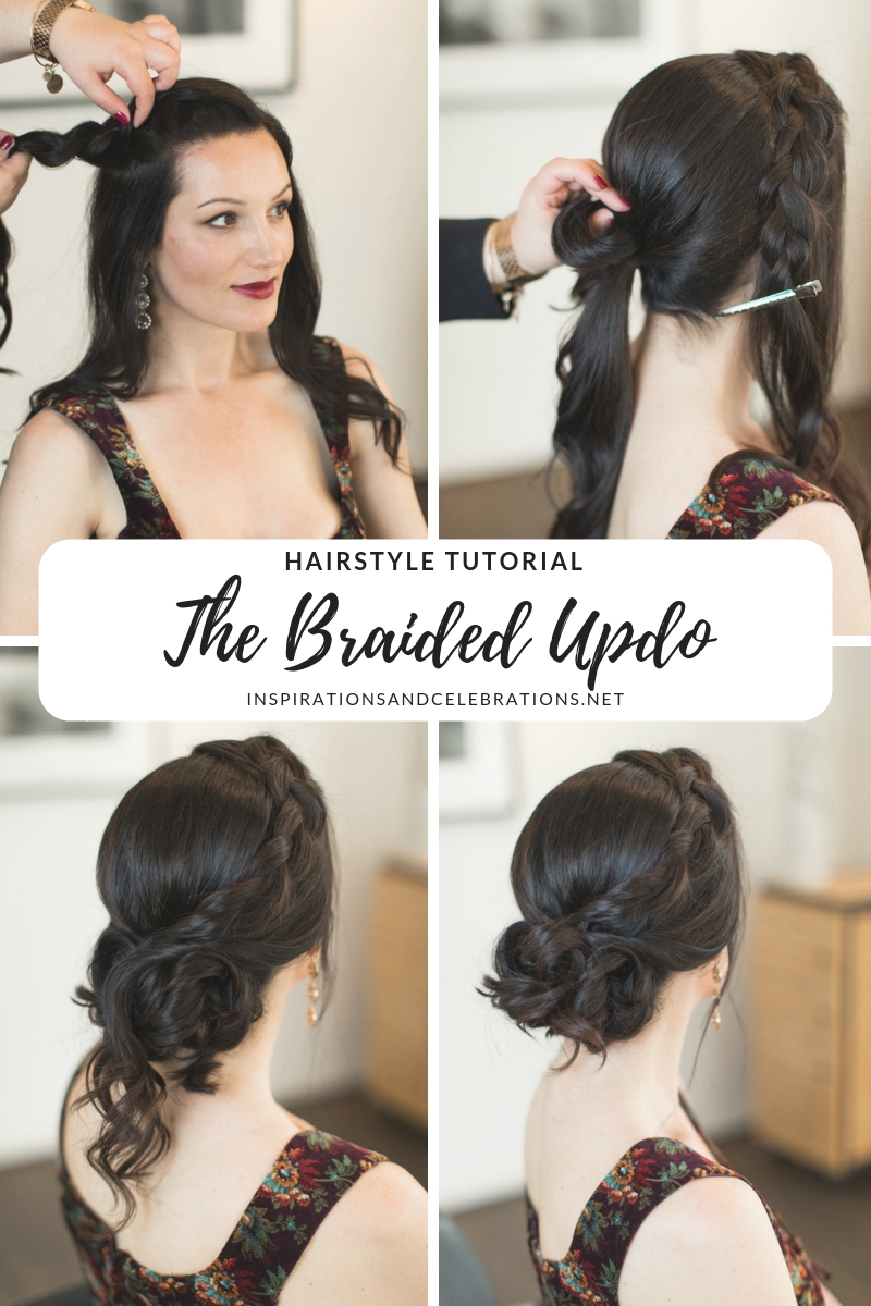 Hairstyle Tutorial - The Braided Updo