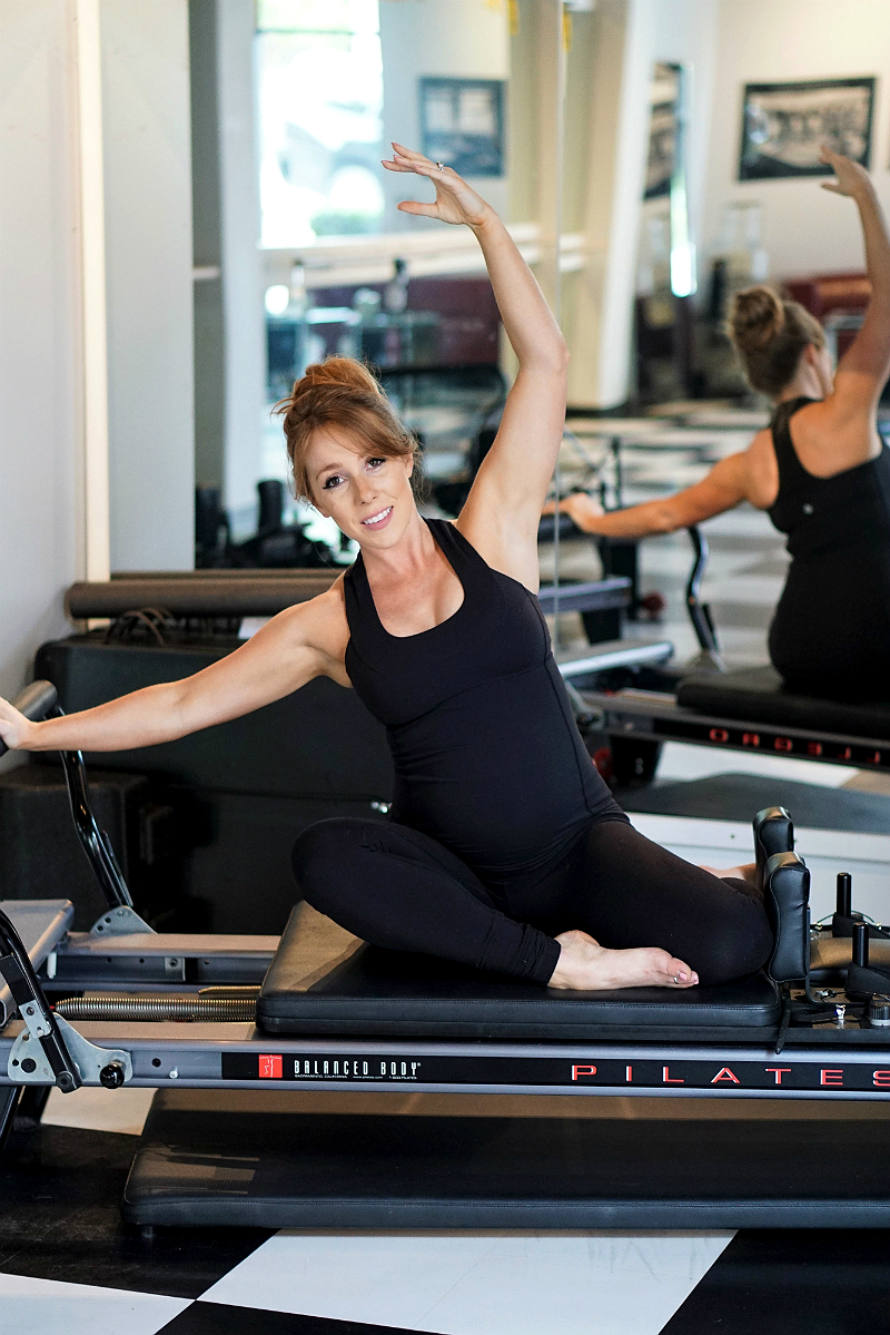 Pilates Reformer Prenatal Exercises