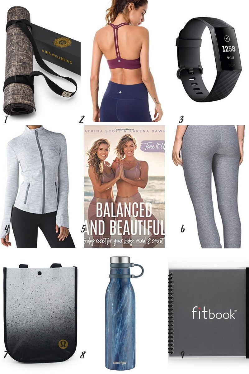 Inspirations & Celebrations 2018 Holiday Gift Guide - 9 Fitness Gifts