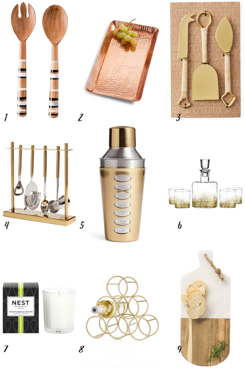 Inspirations & Celebrations 2018 Holiday Gift Guide - 9 Hostess Gifts