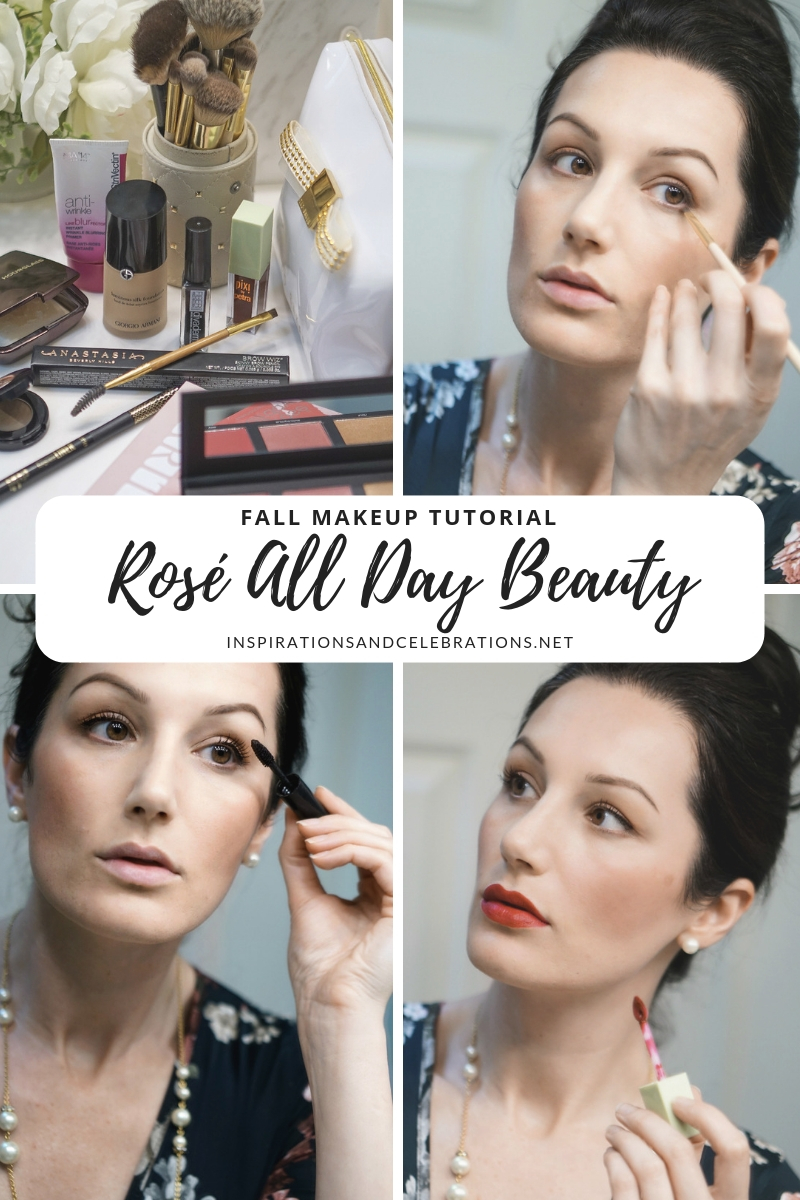 Fall Makeup Tutorial - Rose All Day Beauty
