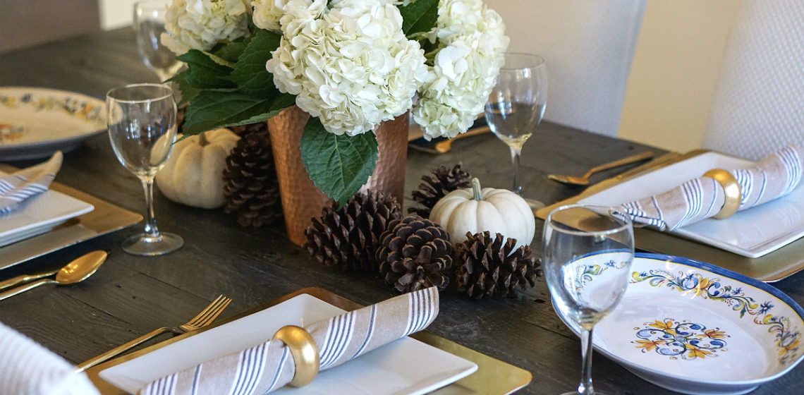 Effortless & Elegant Thanksgiving Tablescape Ideas