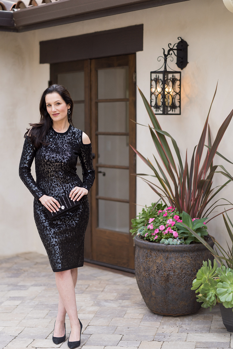 A Glamorous NYE Party Outfit To Inspire You To Dress Up on New Year's Eve