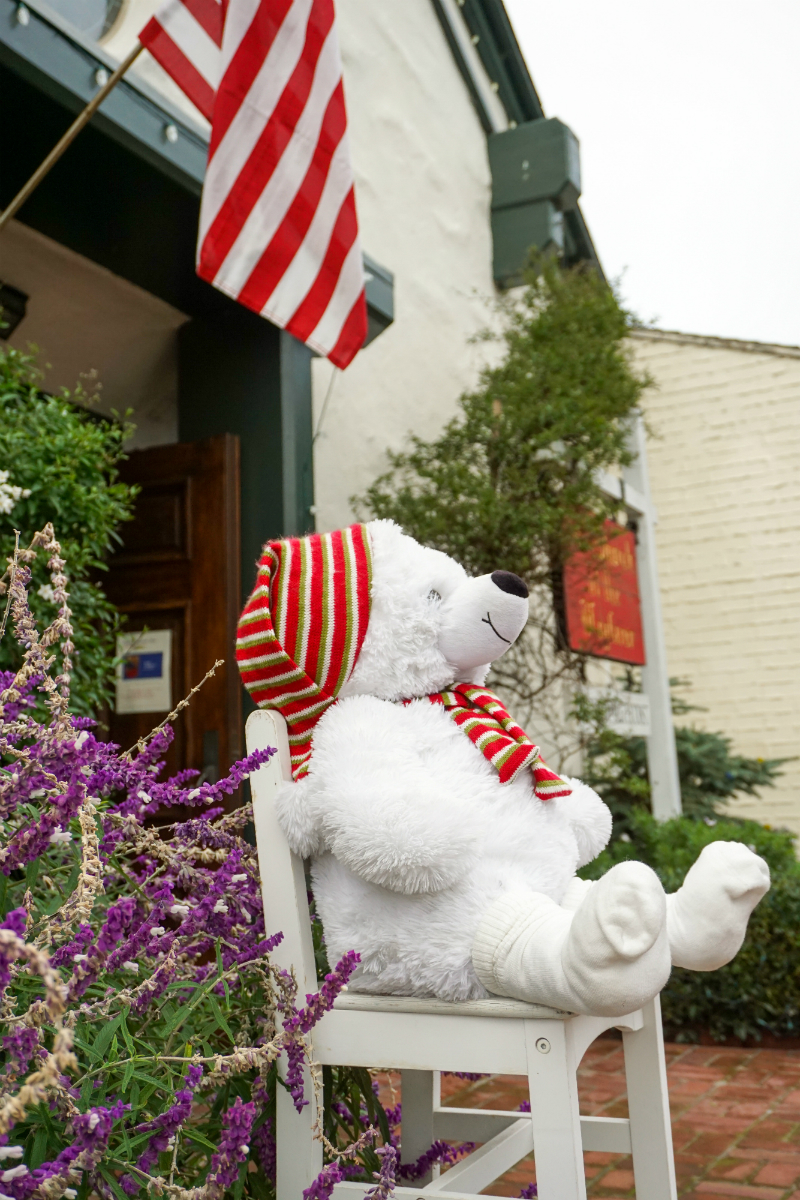 Celebrating Christmas in Carmel-by-the-Sea