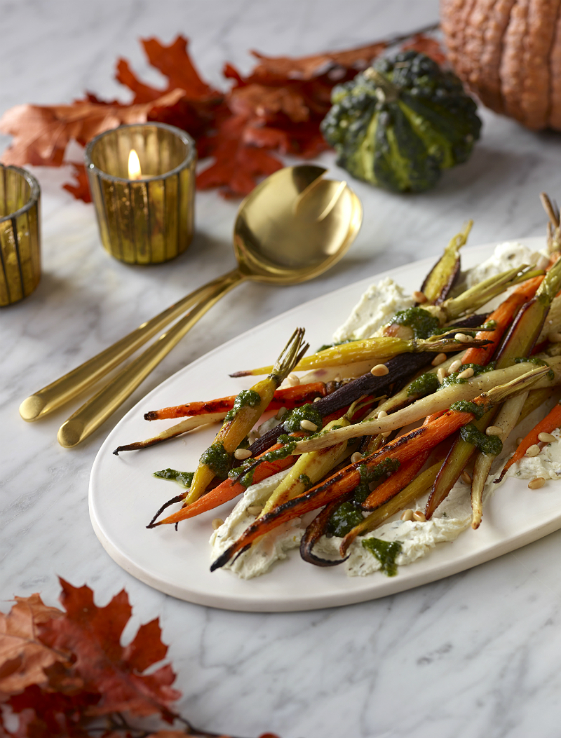 Gourmet Holiday Recipes from Celebrity Chefs & Restaurateurs - Boursin Carrot Top