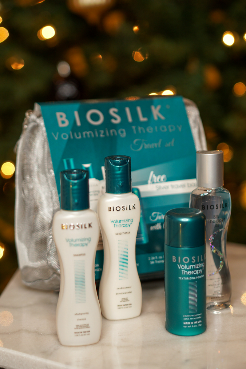 Holiday Giveaway - Biosilk Volumizing Therapy Set