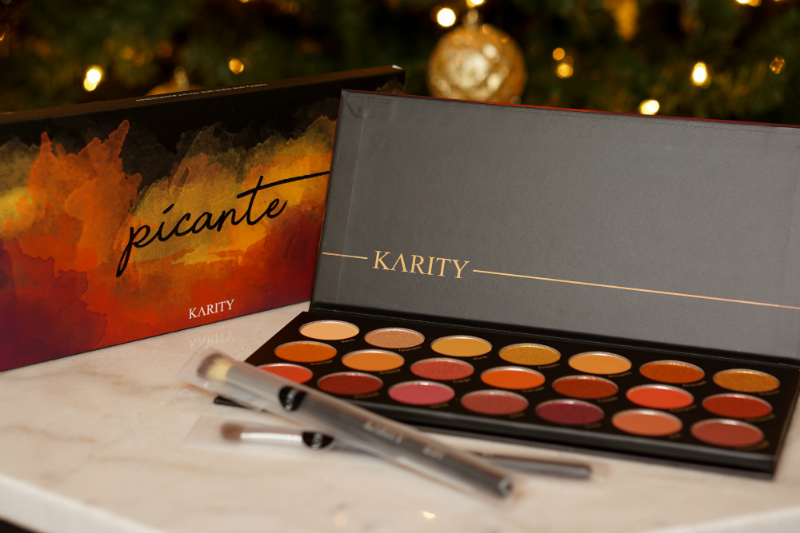 Holiday Giveaway - Karity Picante Palette and Brushes