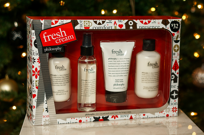 Holiday Giveaway - Philosophy Fresh Cream Set