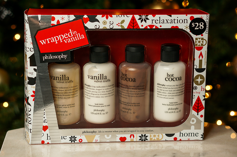 Holiday Giveaway - Philosophy Wrapped in Vanilla Set