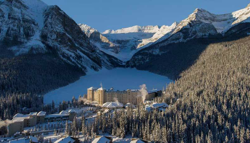 Winter Wonderland Vacations - Fairmont Lake Louise Banff