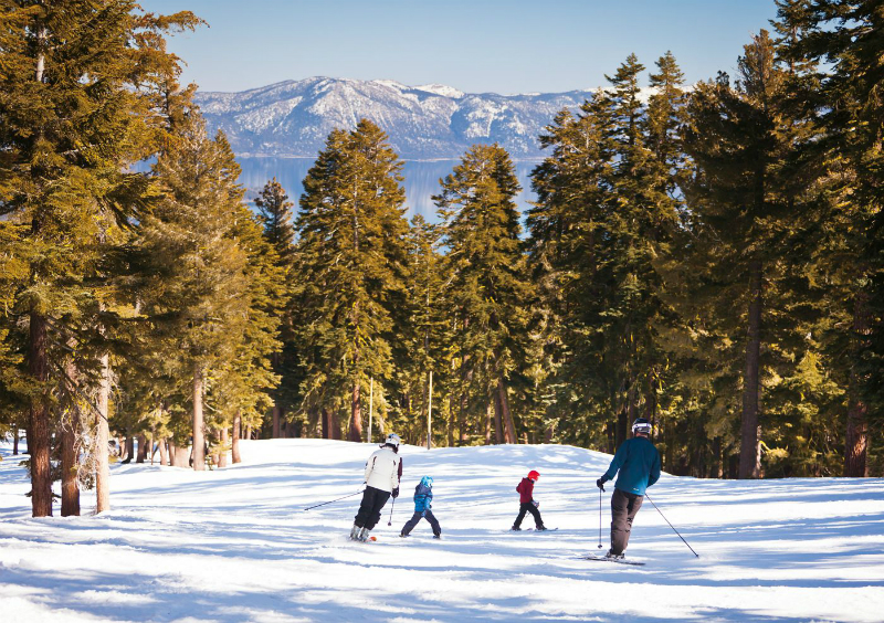 Winter Wonderland Vacations - Ritz-Carlton Lake Tahoe