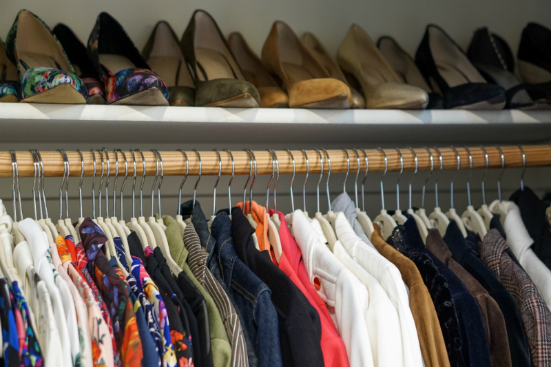 The Joyful Guide to Home Organizing - How To Organize Clothing & Accessories
