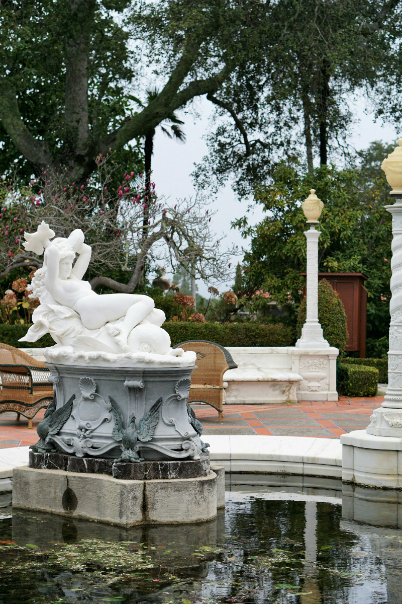 5 Romantic Places in California To Celebrate Valentine's Day - Hearst Castle San Simeon