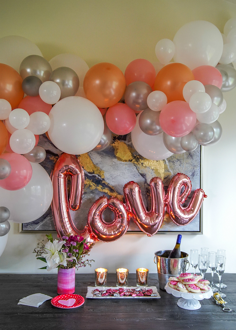Diy Balloon Garland Tutorial Fun Easy Party Decor Ideas Inspirations And Celebrations