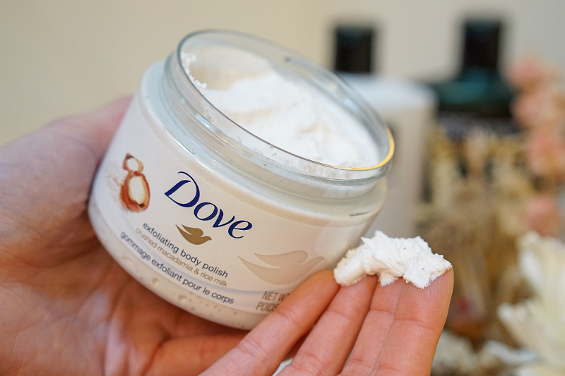 Simple Ways To Refresh Your Beauty Routine For Spring Dove Exfoliating Body Polish Inspirations And Celebrations
