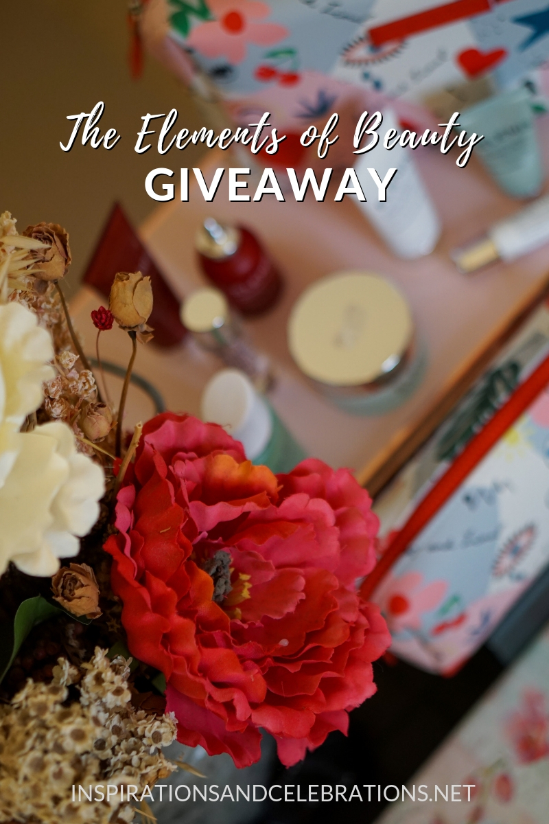 The Elements of Beauty Giveaway from Inspirations & Celebrations