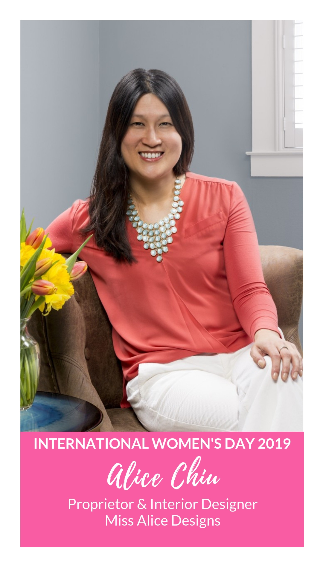 International Women's Day - Alice Chiu