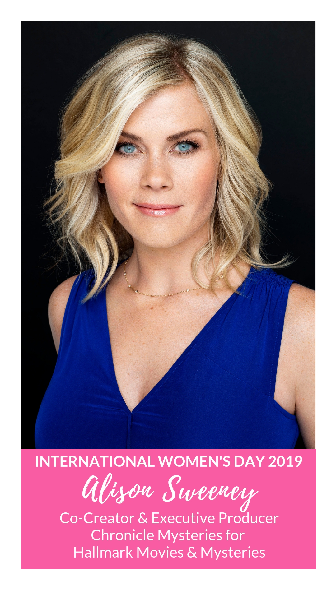 International Women's Day - Alison Sweeney