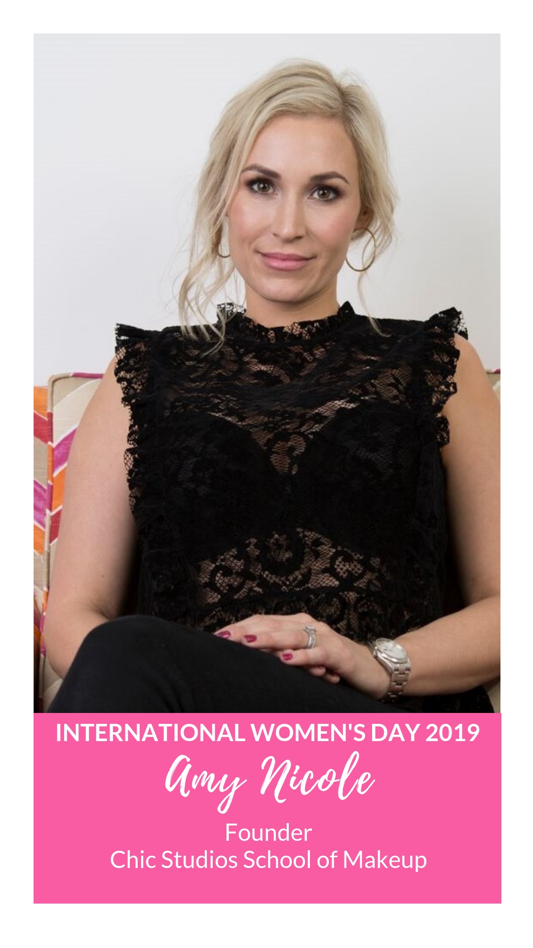 International Women's Day - Amy Nicole