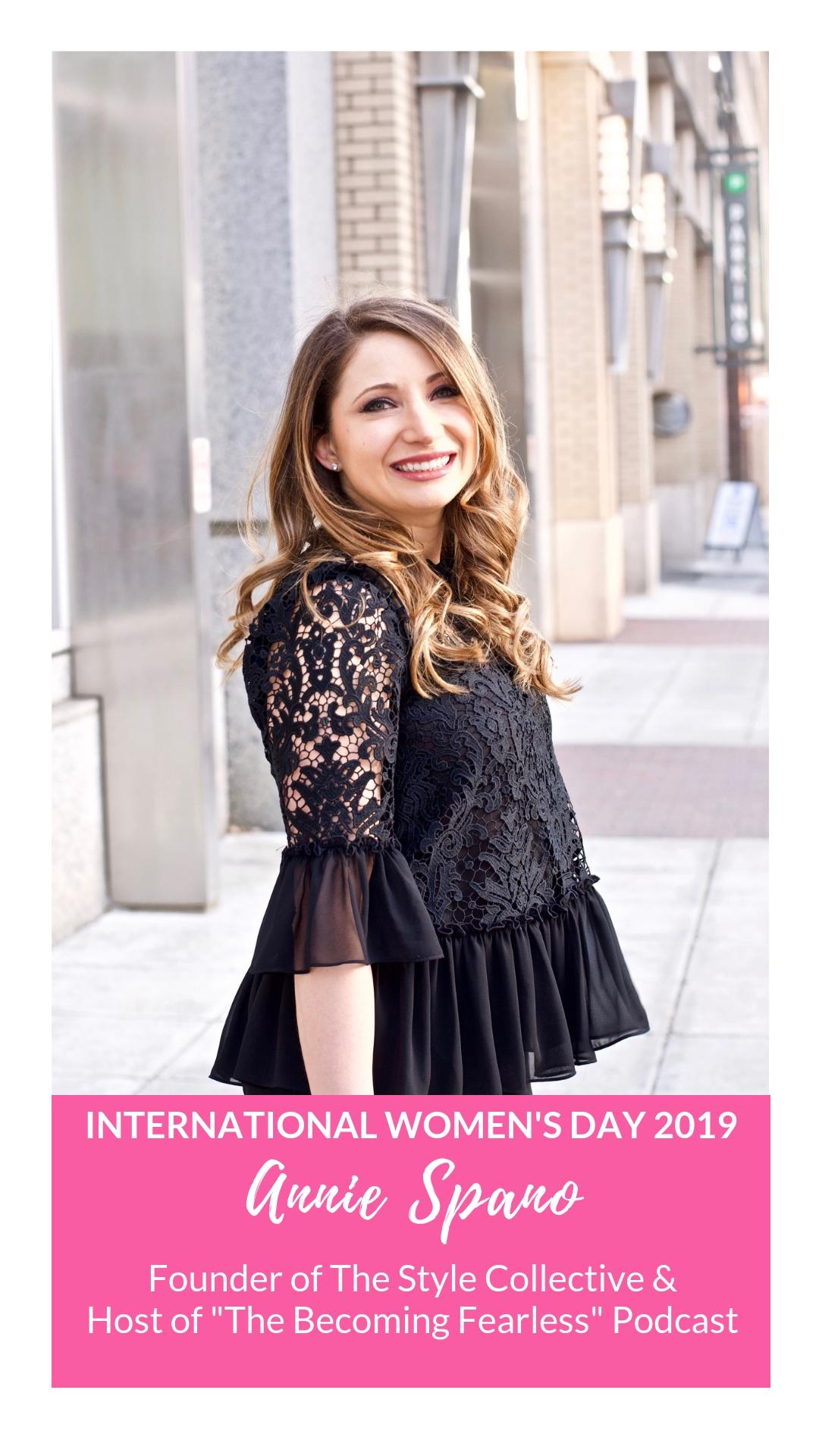 International Women's Day - Annie Spano