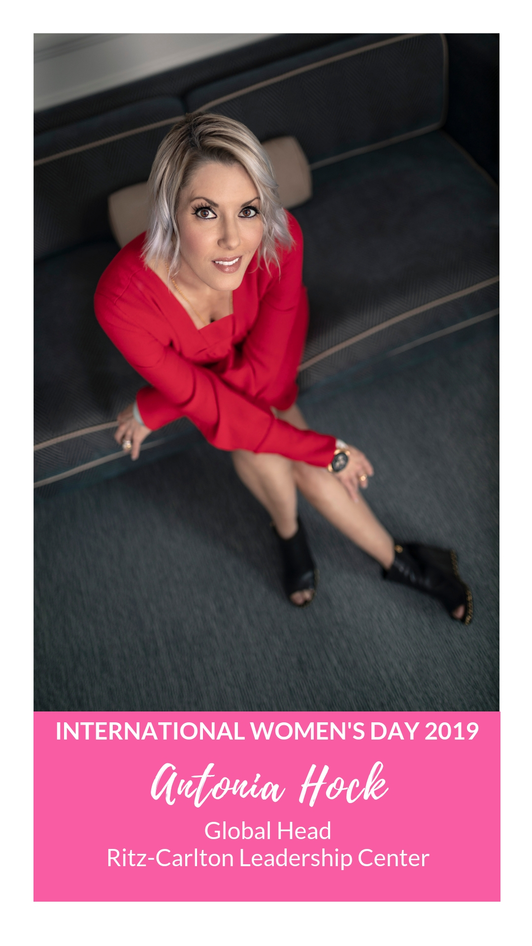 International Women's Day - Antonia Hock