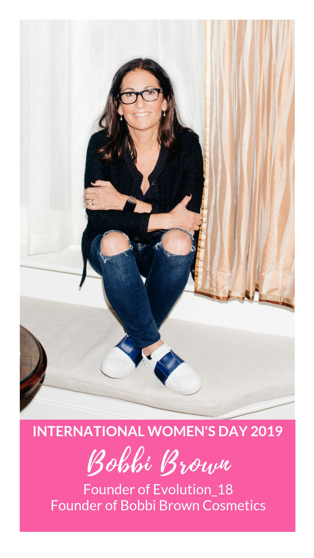 International Women's Day - Bobbi Brown