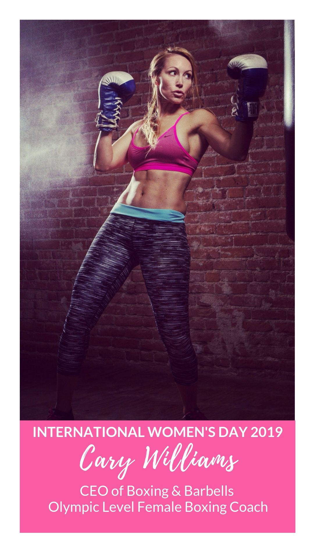 International Women's Day - Cary Williams