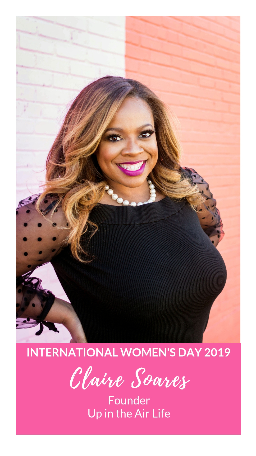 International Women's Day - Claire Soares