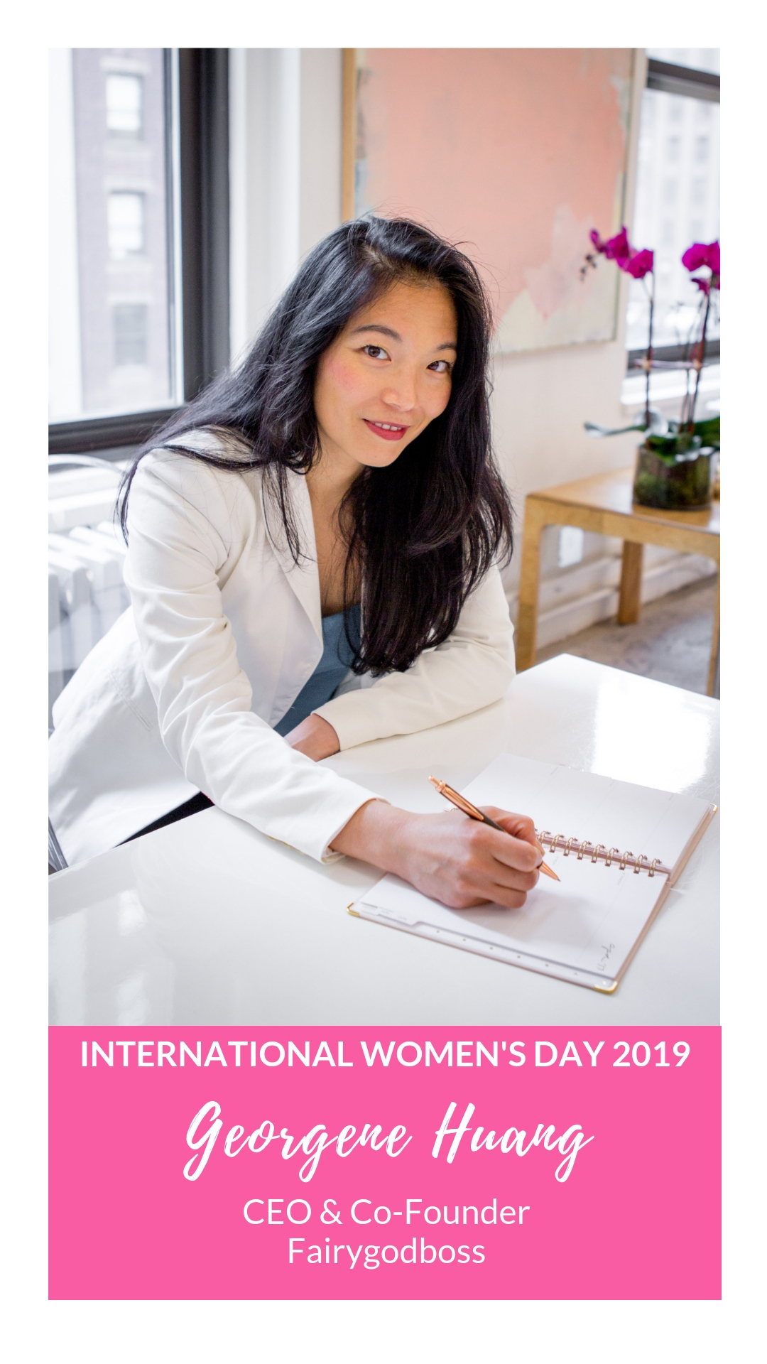 International Women's Day - Georgene Huang