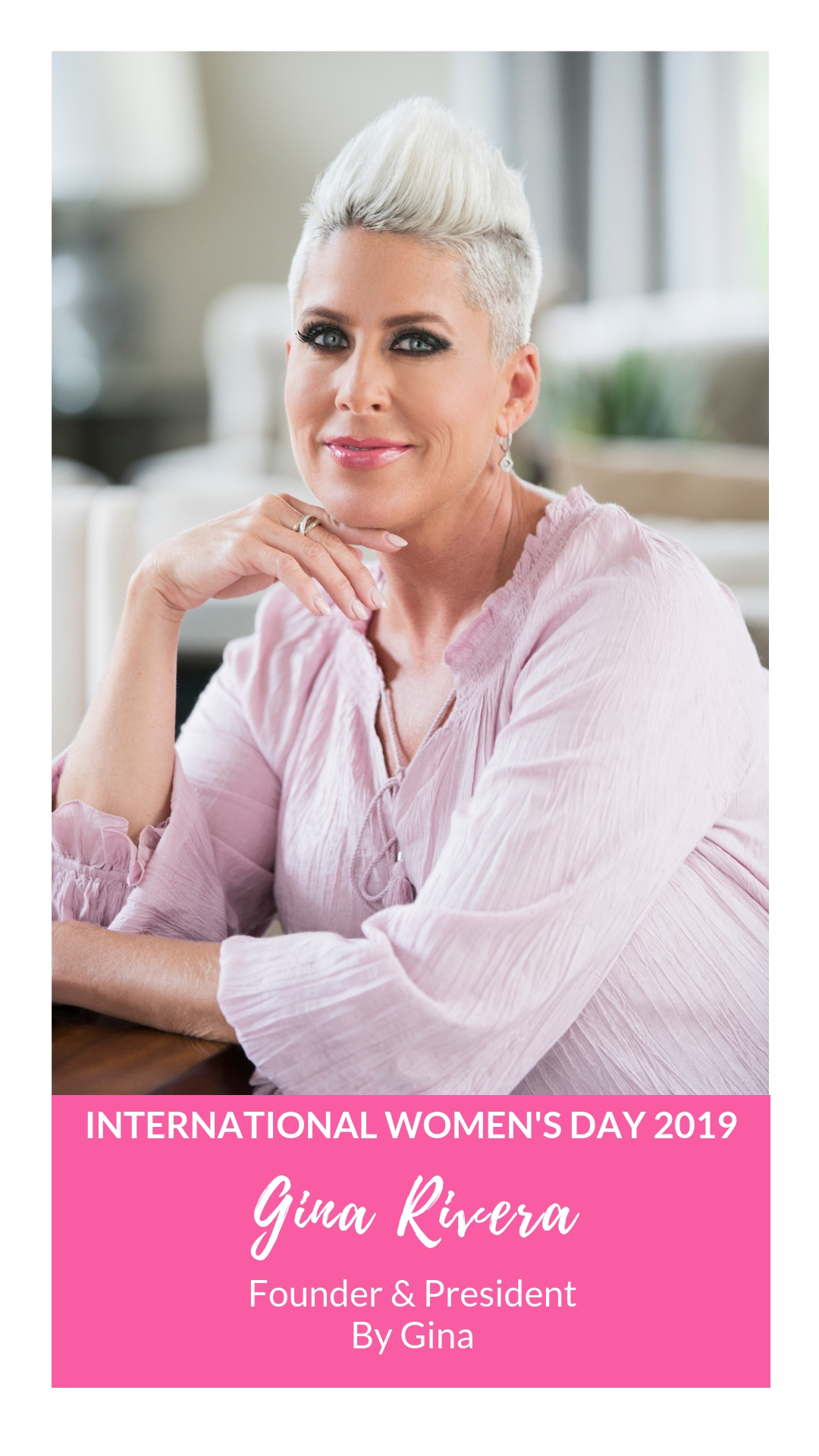 International Women's Day - Gina Rivera