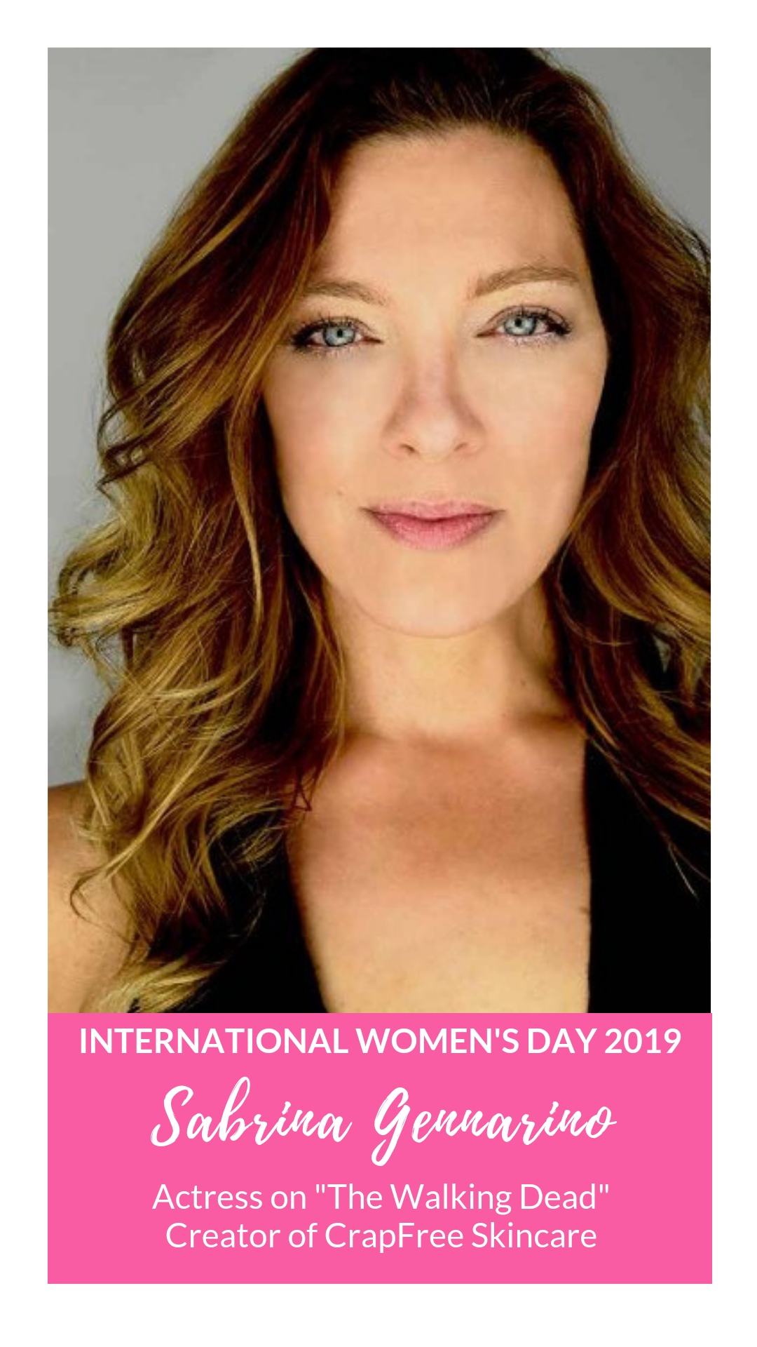 International Women's Day - Sabrina Gennarino