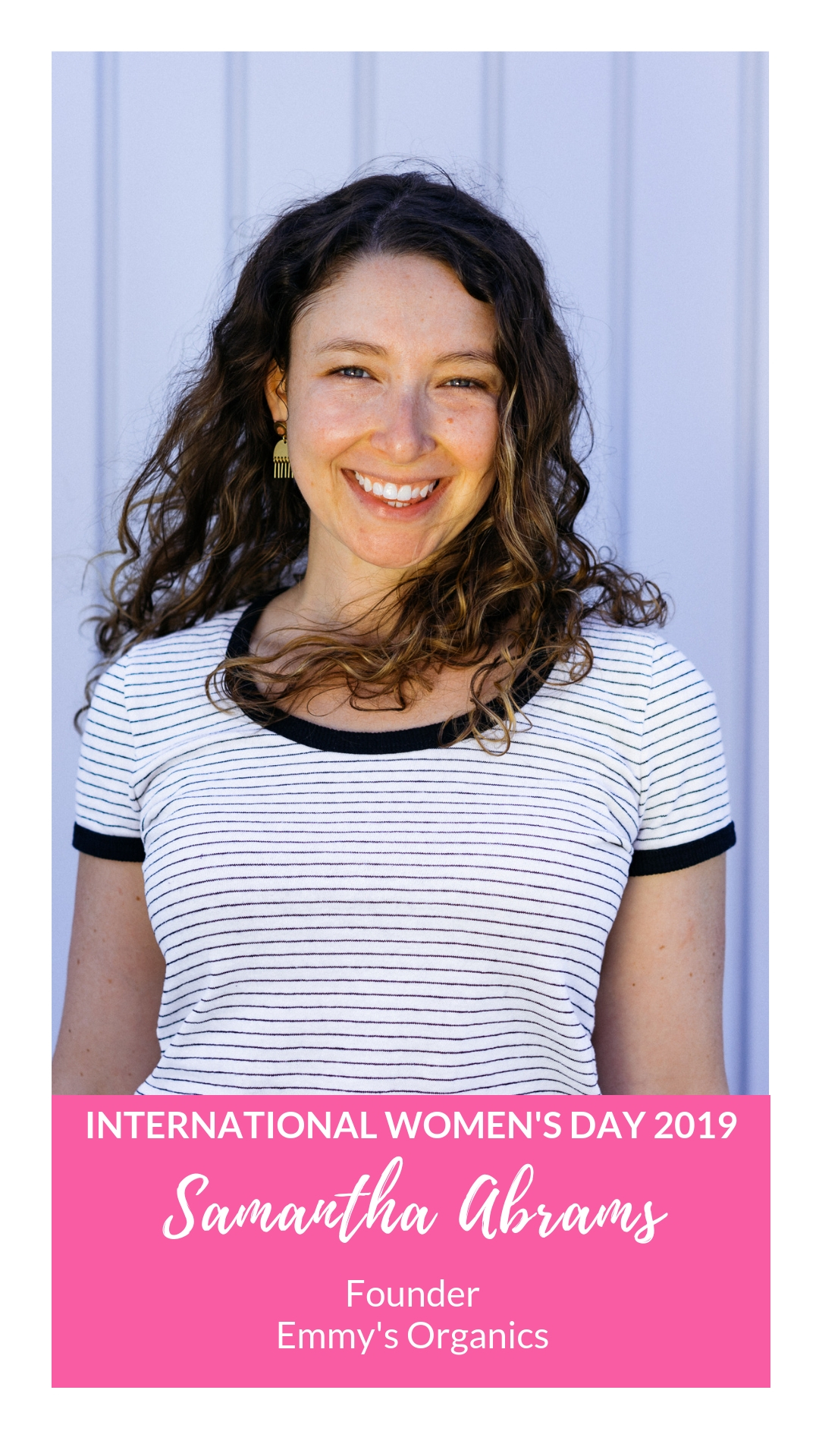 International Women's Day - Samantha Abrams