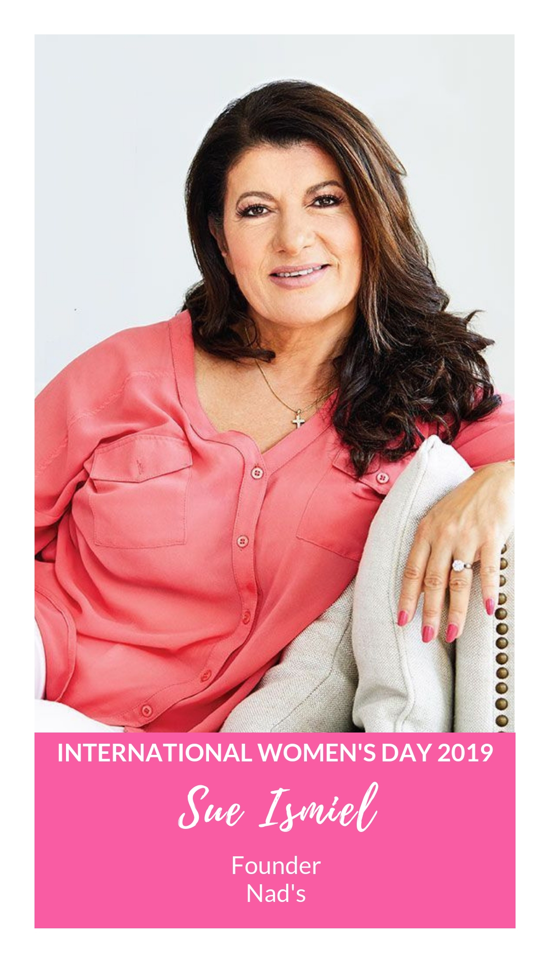 International Women's Day - Sue Ismiel