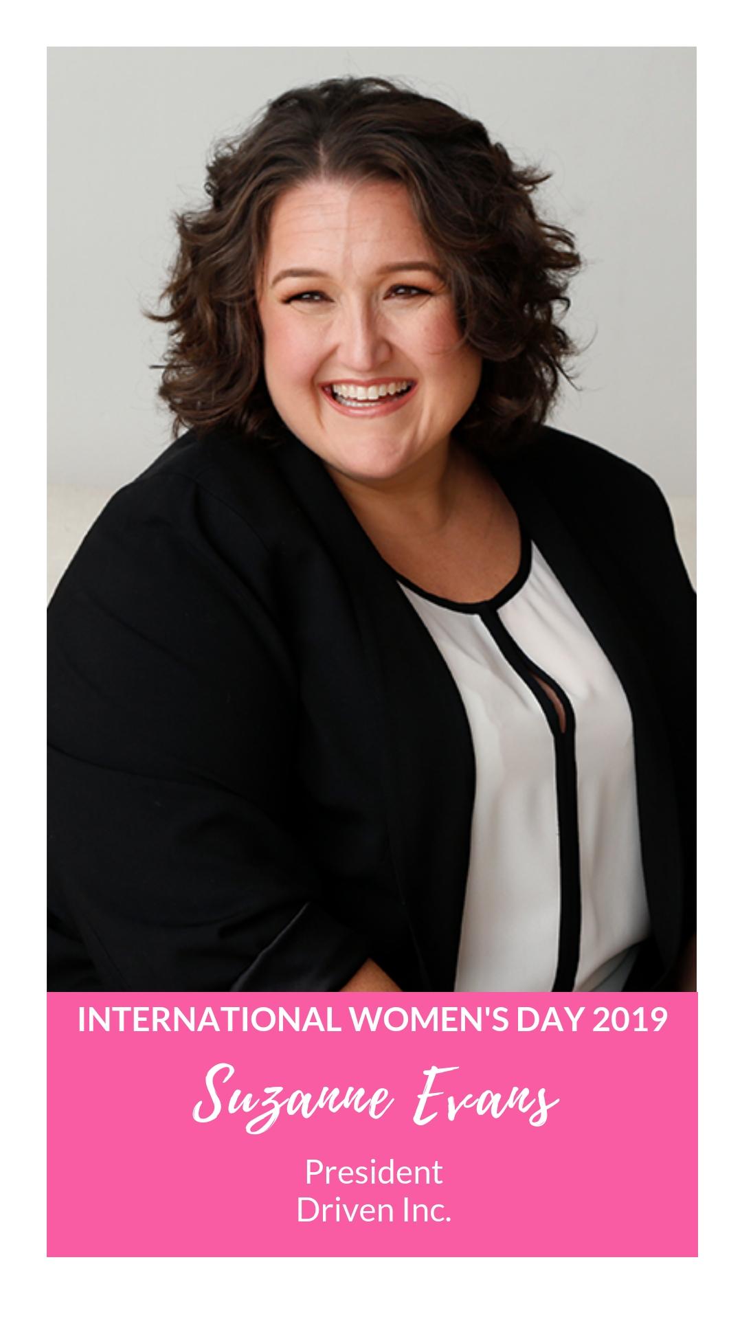 International Women's Day - Suzanne Evans