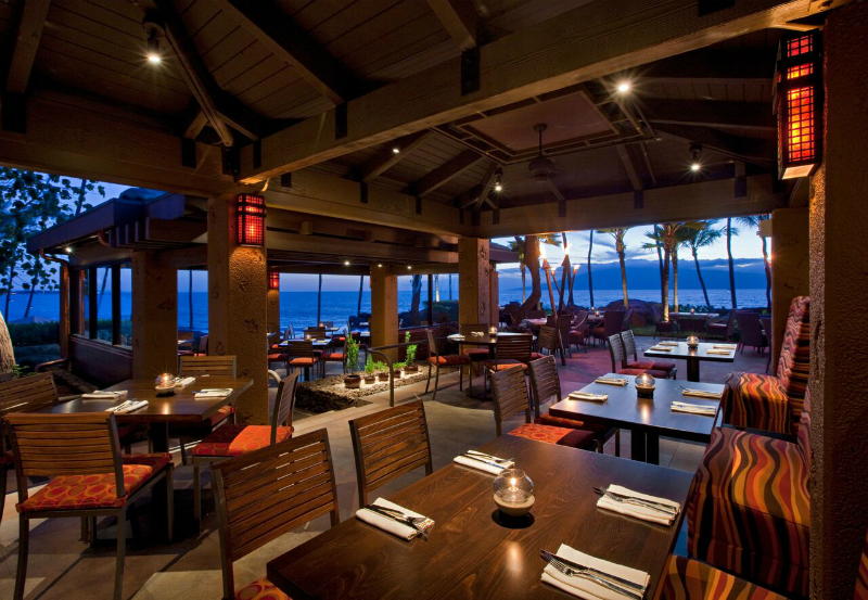 Luxury Hotel Restaurants with Gorgeous Views - Hyatt Regency Maui