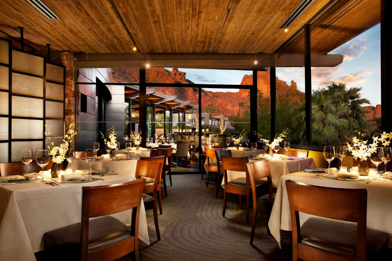 Luxury Hotel Restaurants with Gorgeous Views - Sanctuary
