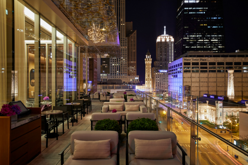 Luxury Hotel Restaurants with Gorgeous Views - Z Bar - Photo by Neil John Burger