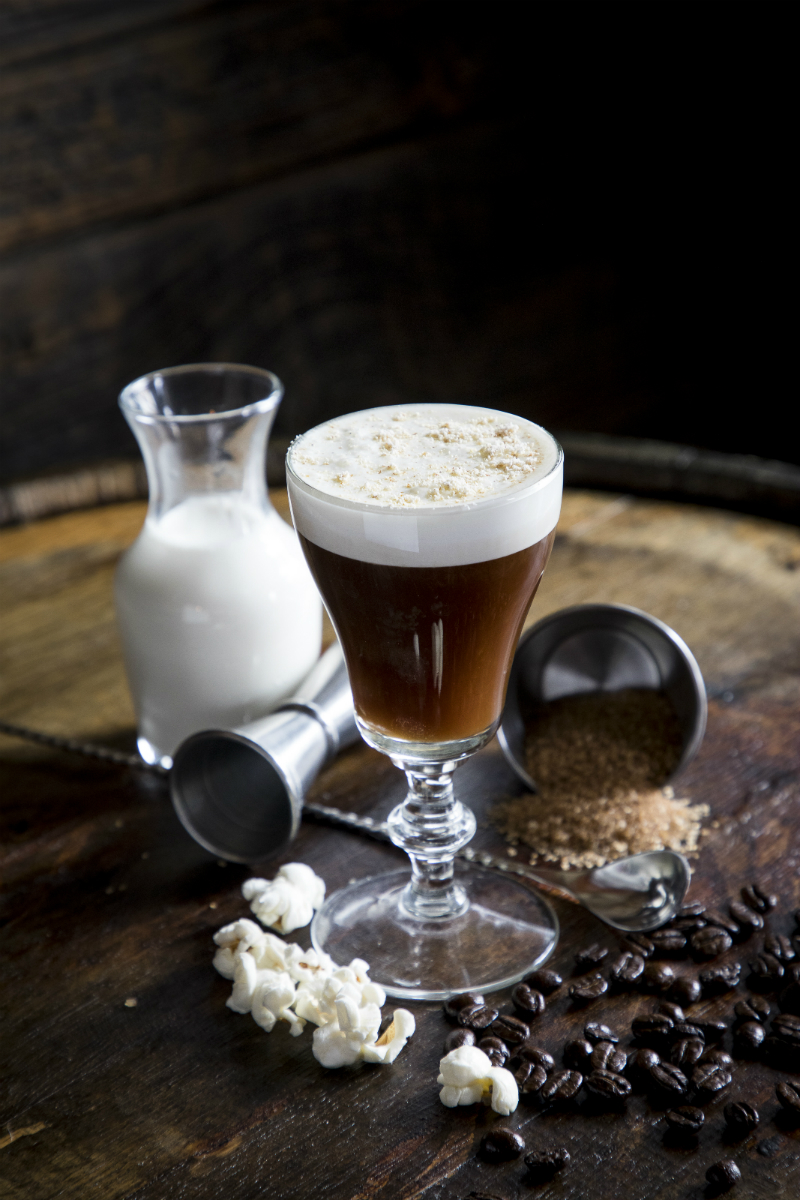 St. Patrick's Day Recipes - Irish Coffee by Prohibition Savannah