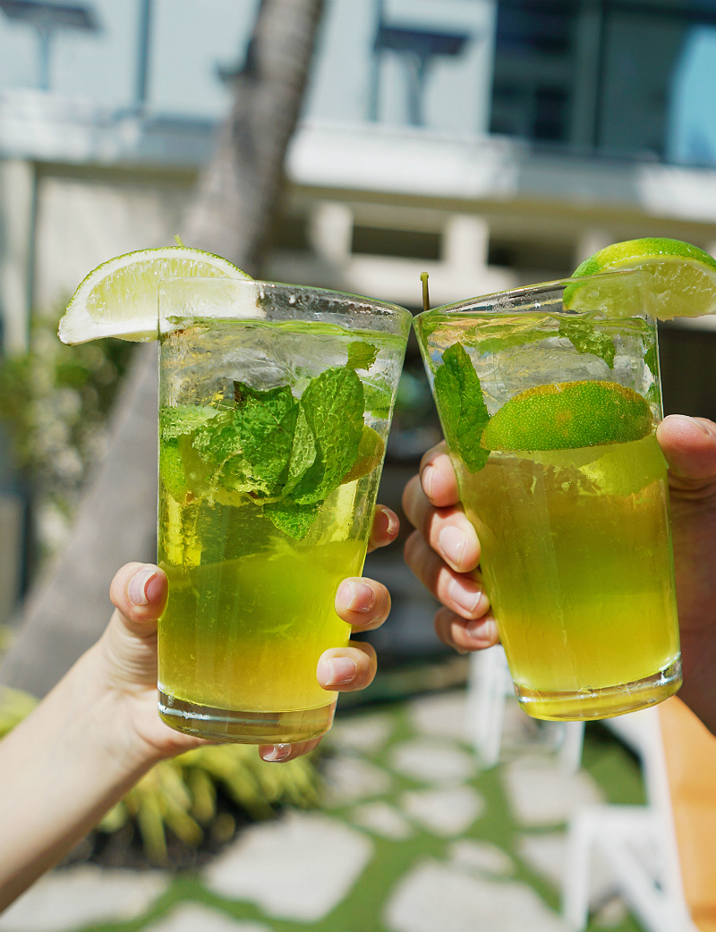 St. Patrick's Day Recipes - Irish Mojito by The Confidante Miami Beach