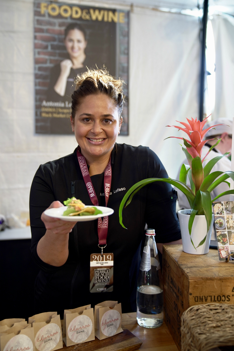2019 Pebble Beach Food and Wine - Chef Antonia Lofaso