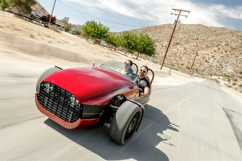 2019 Aether Rally in Pioneertown Joshua Tree - Vanderhall Motor Works - 2