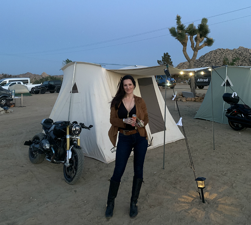The Glam Girl's Guide to Camping in Pioneertown