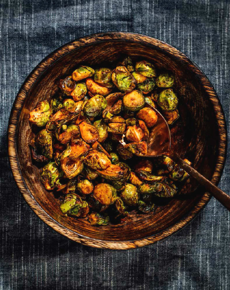 Delicious Vegetarian Recipes - Sweet & Sour Roasted Brussels Sprouts
