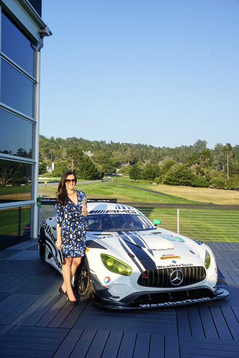 The Monterey Car Week Style Series - What To Wear To Auto Manufacturer Exhibits