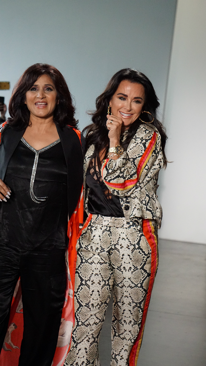 NYFW Style Series - RHOBH Star Kyle Richards and Designer Kyle Shahida Debut Kyle and Shahida Fashion Line