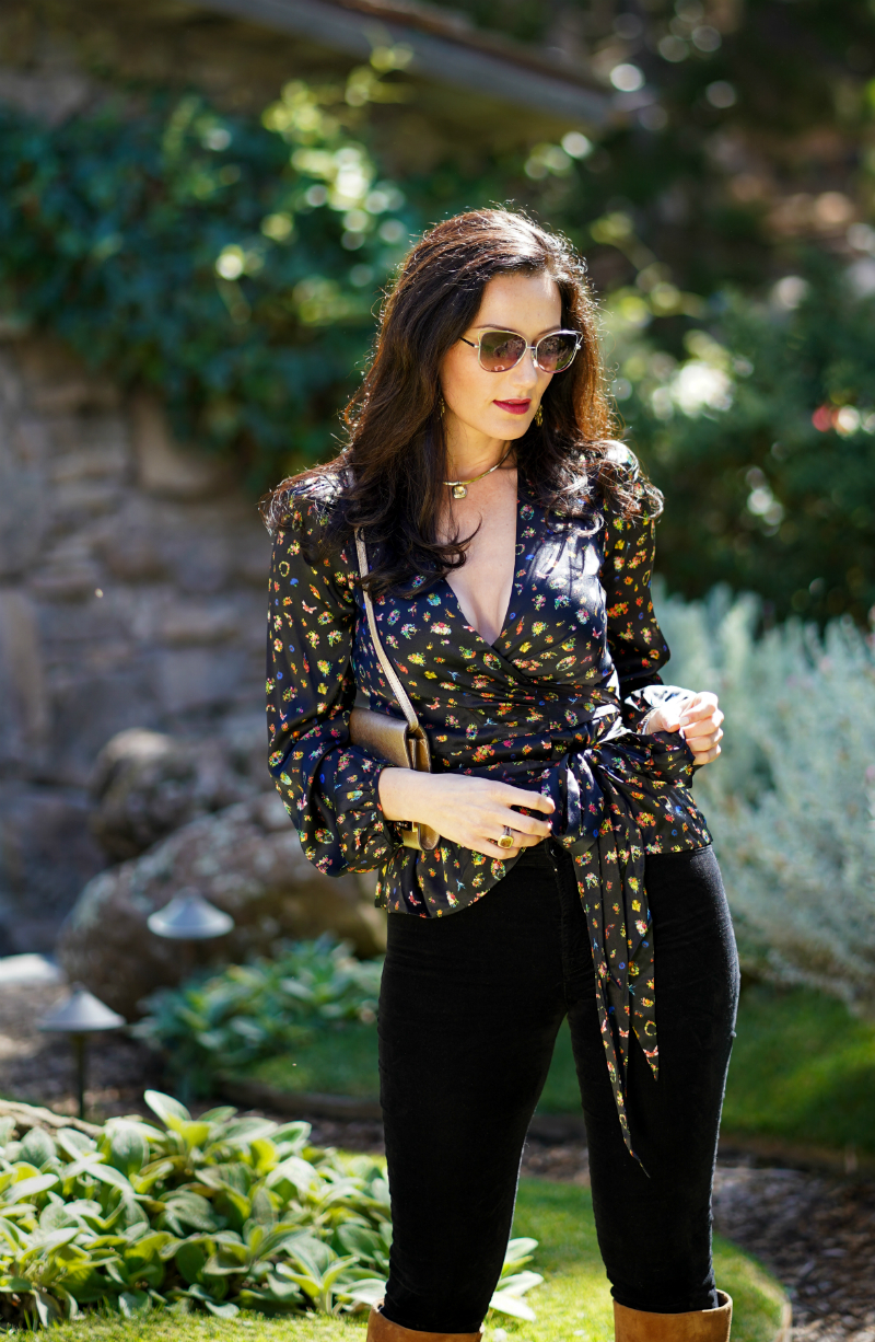 Fall Style Guide - A Modern Way To Wear The Glam 1970's Fashion Trend
