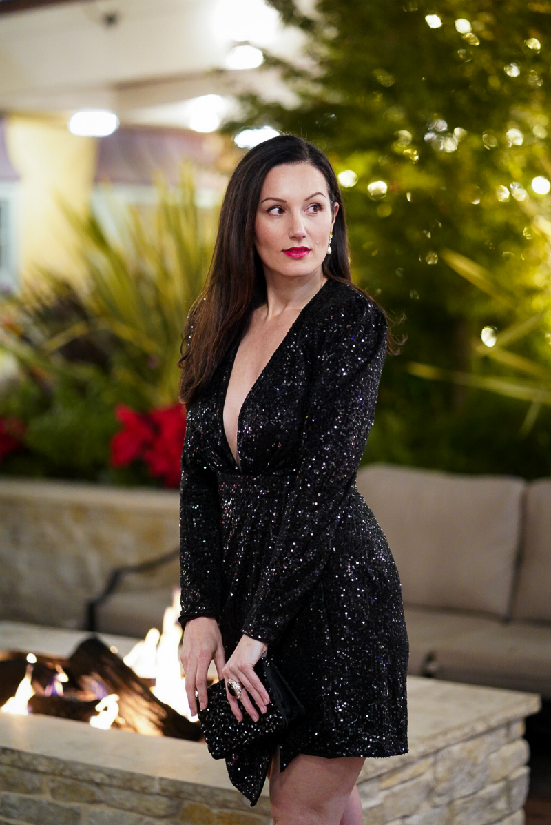 20 Gorgeous Sequin Dresses to Wear to Holiday Parties