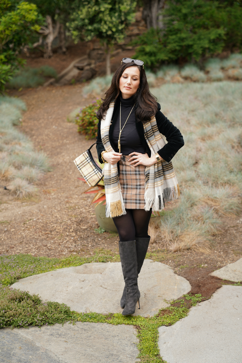 Fall Fashion Trend: The Gossip Girl's Guide to Wearing Preppy Plaids for Fall